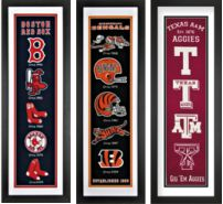 Wholesale Framed Sports Embroideries